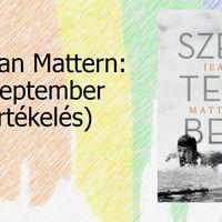 Jean Mattern: Szeptember