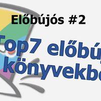 Előbújós #2 A Top7 előbújás könyvekből