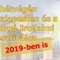 A hétvégém: Budapest, Margó Irodalmi Fesztivál és Könyvvásár és még annyi minden