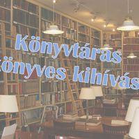 Könyvtáras könyves kihívás