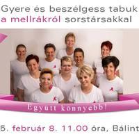 Országos találkozó a rák világnapja alkalmából - együtt könnyebb!