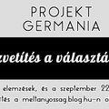 A Projekt Germánia blog elé