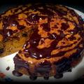 Csokis-sütőtökös tortácska