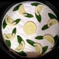 Citromos-mascarponés torta sütés nélkül