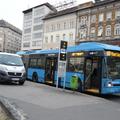 Elsodorta a buszsofőr a bringást, majd letagadta