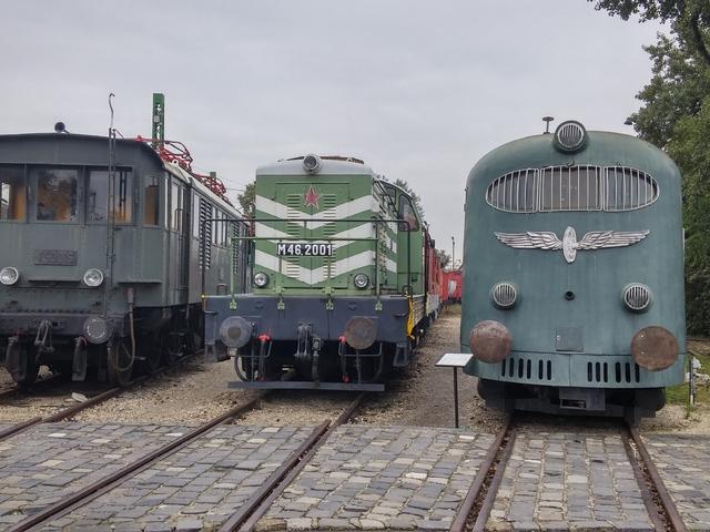 Képek a Hargita motorvonatról