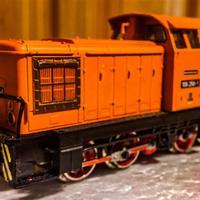 Egy régi Piko kedvenc, a BR106 tolatós mozdony feltámadása