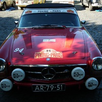 The Peking to Paris Motor Challenge 2016