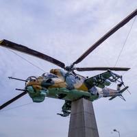 Mi-24, harci helikopter új szerepben
