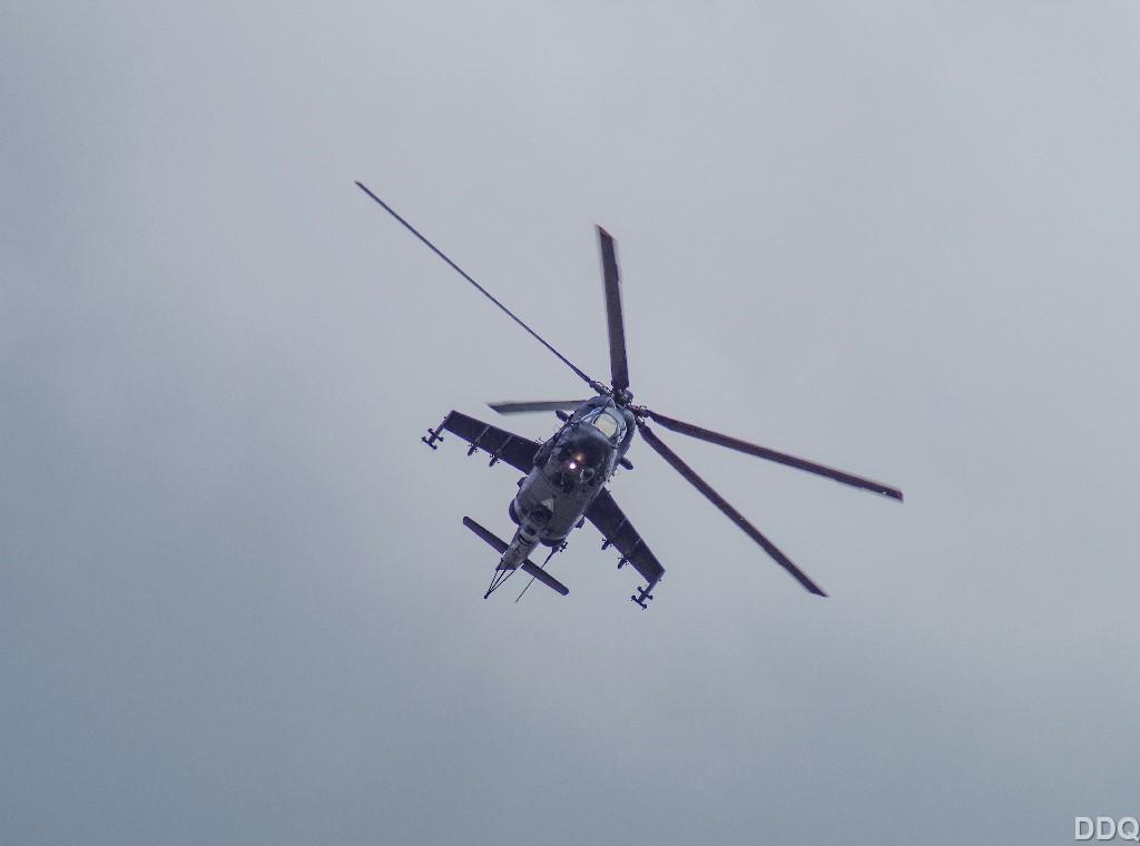 Mi-24 remekül néz ki az új színekben