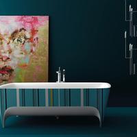 Miért ne lehetne nekünk is színes fürdőszobánk?
