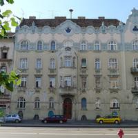 Budapest legszebb lépcsőházai - Thököly út 46.