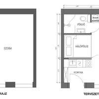 Menő budapesti lakások: 28 négyzetméterből laza főúri menedék