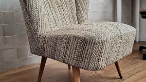 Hogyan lehet feldobni egy retró fotelt?
