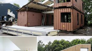 Hogyan építs három konténerből egy szuperlakást?