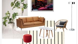 A fekete-fehér szőnyeg csodákra képes a lakásodban