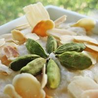 Gluténmentes mandulás rizspuding