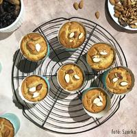 Mindenmentes mandulás muffin