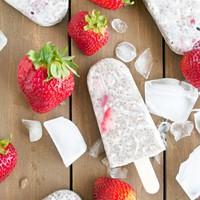 Gyümölcs jégkrém chia maggal