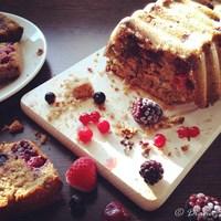 Erdeigyümölcsös sütemény