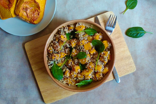Sütőtökös quinoa