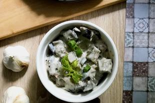 Joghurtos-diós padlizsánsaláta