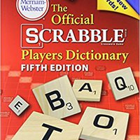 ((INSTALL)) The Official Scrabble Players Dictionary, New 5th Edition, (Jacketed Hardcover) 2014 Copyright. sufrido Thermal could CLICK parques difiere