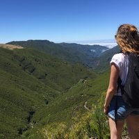 Júliusban vettem részt egy portugál-magyar cserén, Madeirán