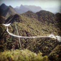 Langkawi Skybridge. #mertutaznijo #travel #travelphotography #malaysia #langkawi #jungle