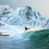 Északi sarkvidék - Szörfparadicsom?
