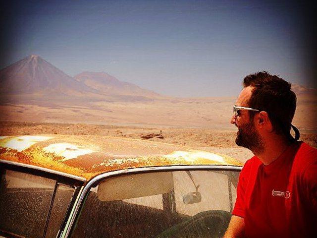 Vigyázz a vulkánnal! Mind that volcano. #mertutaznijo #eupolisz #chile #southamerica #travelphoto #travel #licancabur #sanpedrodeatacama #utazás #hegymászás #kaland