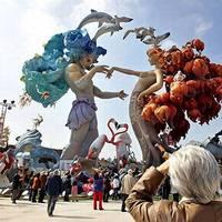 Las Fallas - Valencia fesztiválja