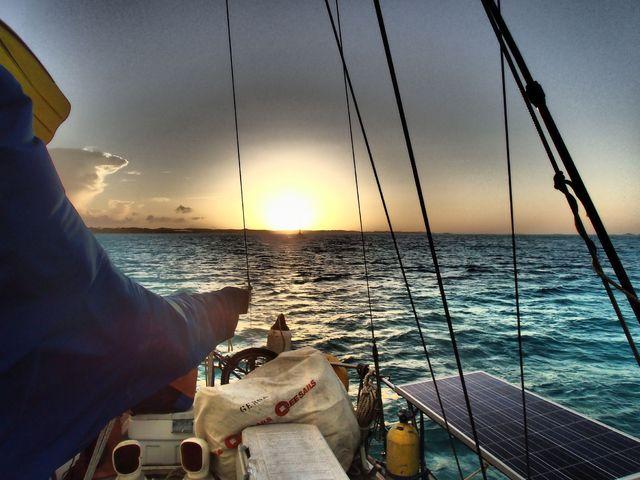 Hajóstoppal az Atlanti-óceánon