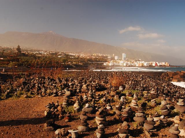 Teide - Vulkán saját szigettel