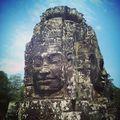 Lenyűgöző Bayon temploma Angkorban. Minden torony négy oldalába bele lett faragva ez az arc. #mertutaznijo #eupolisz #travel #travelphotography #temple #angkor #cambodia #kambodzsa #asia #sculpture