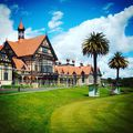 Nagyon brit. Very british. #rotorua #newzealand #spa #britishempire #queenspark #mertutaznijo #eupolisz #baths #history