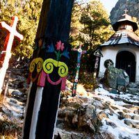 Szimbolikus temető a Tátrában
