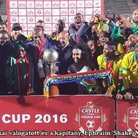 Dél-Afrika olimpiai csapatáé a régió COSAFA-kupája