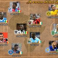 A szezon afrikai álomcsapata