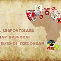 Afrika legfontosabb bajnokai a 2015/16-os szezonban