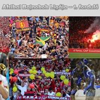 Afrikai BL - 1. forduló
