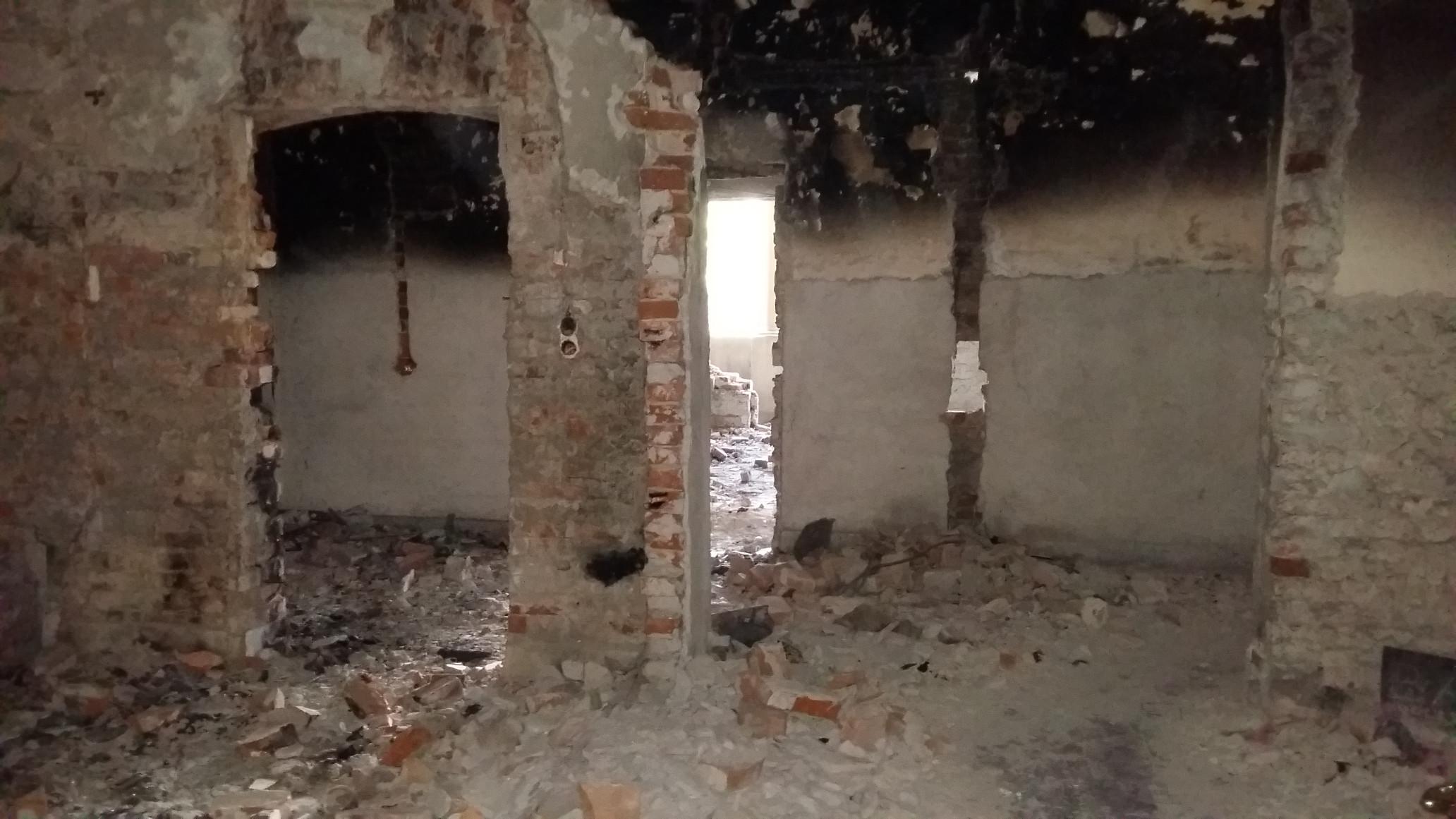 Tűz is több teremben volt