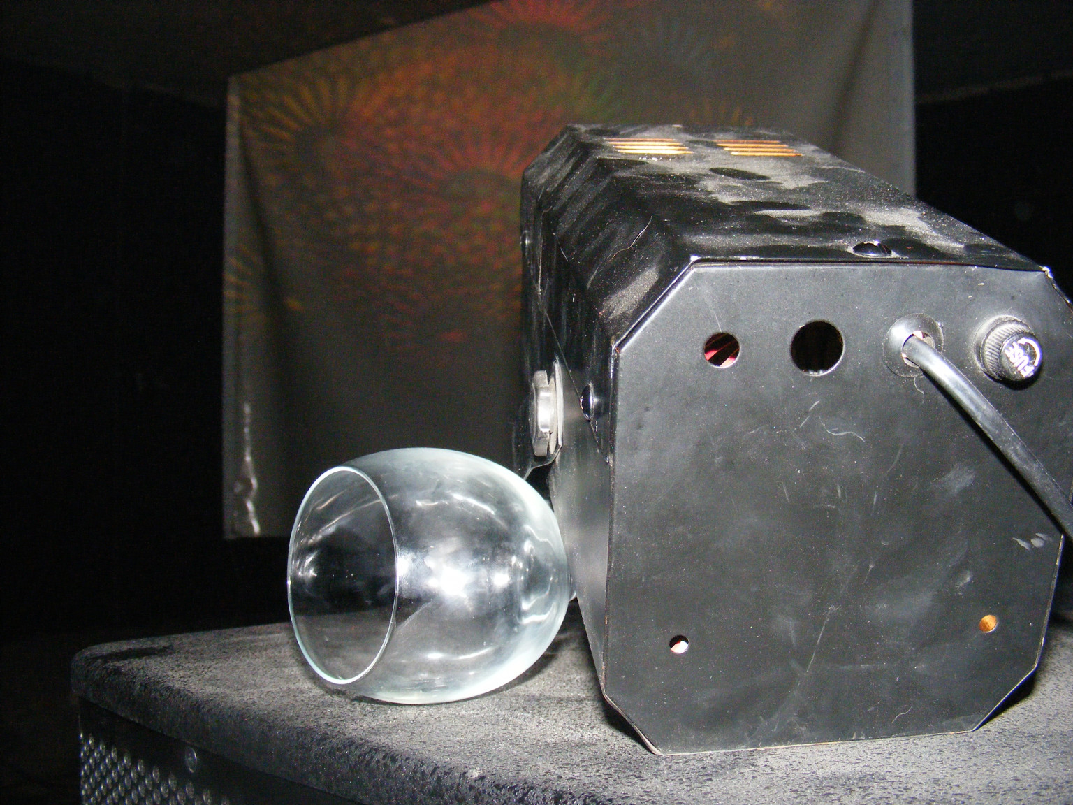 Sztroboszkóp, vagy micsoda spontán tartóállványa a Moszkvában