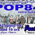 POP84 a Pecsa Music Caféban - 2012.04.10.
