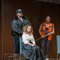 """Erkel Színház –""""L`amore é un`altra cosa"""" - Nyugat lánya 2.0 - Minnie: Bátori Éva ! – 2018. dec.6. ( első szereposztás második előadása)"""