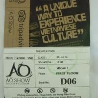 Saigon - Operaház – Akrobatikus show – néhány észrevétel (és szerény javaslat az otthoniaknak...) júl. 30.