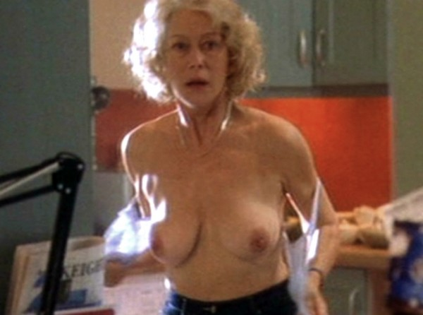 Old woman doing nude calendars
