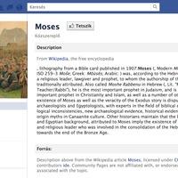 Kedves Mózes!