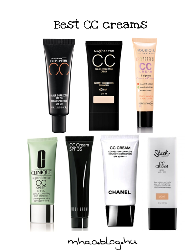 BB és CC krémek - Makeup Hair & Outfit Blog