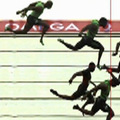 Kaotikus 100 méteren verték meg Tyson Gayt